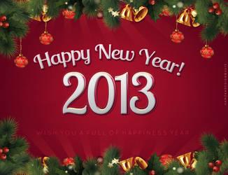 Happy New Year 2013 by lechham