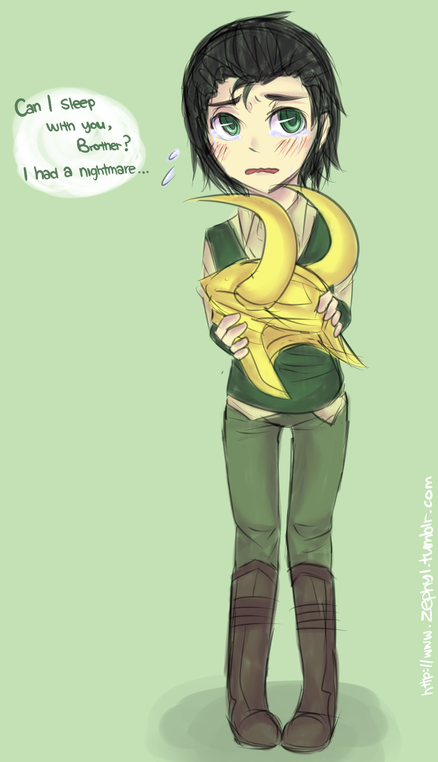 kid loki height