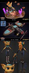 Angela Cross - 3D Model by Gashu-Monsata