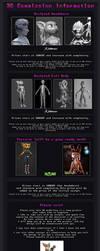 3D Model Commission Sheet by Gashu-Monsata