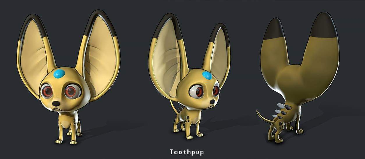 Toothpup Model by Gashu-Monsata