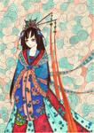 Noble demon lady by TurquoiseSubmarine