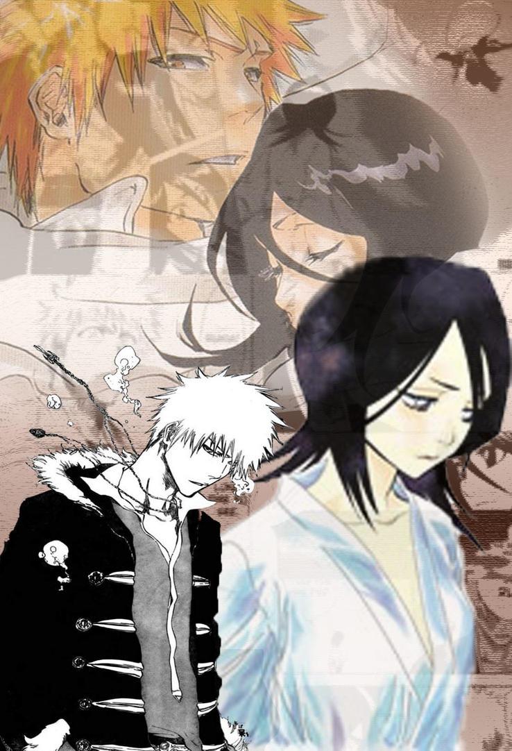 Ichigo and Rukia by Rins-sanctum on deviantART