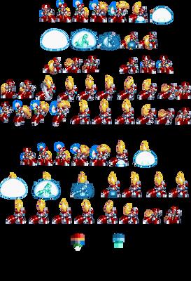 32-bit Megaman X1 Zero, Giga Attack Sheet
