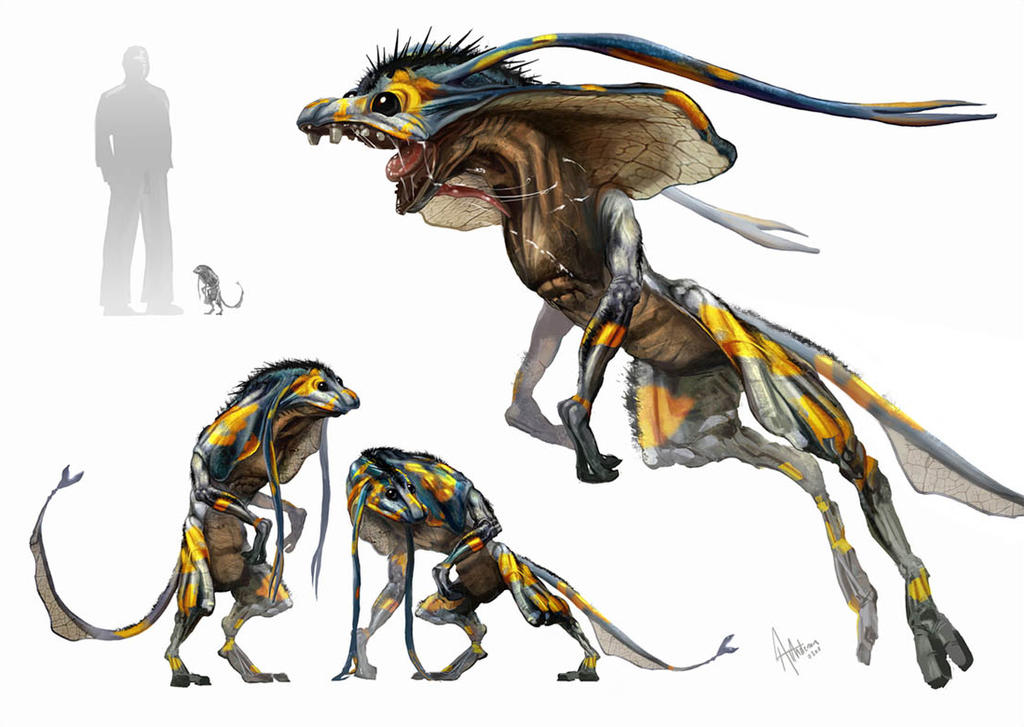 Creature And Character Design Book : Horntail full image by atanderson on deviantart