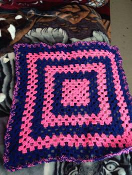Blue  Pink Baby Blanket