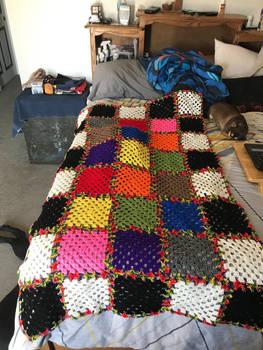 Baby Blanket of Rainbows