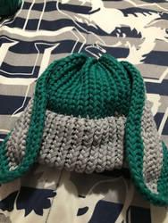Deku Bunny Baby Hat