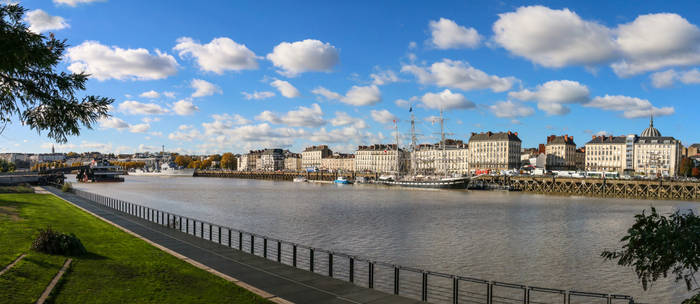 View of Nantes