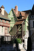 Half-timbered houses by SP4RTI4TE