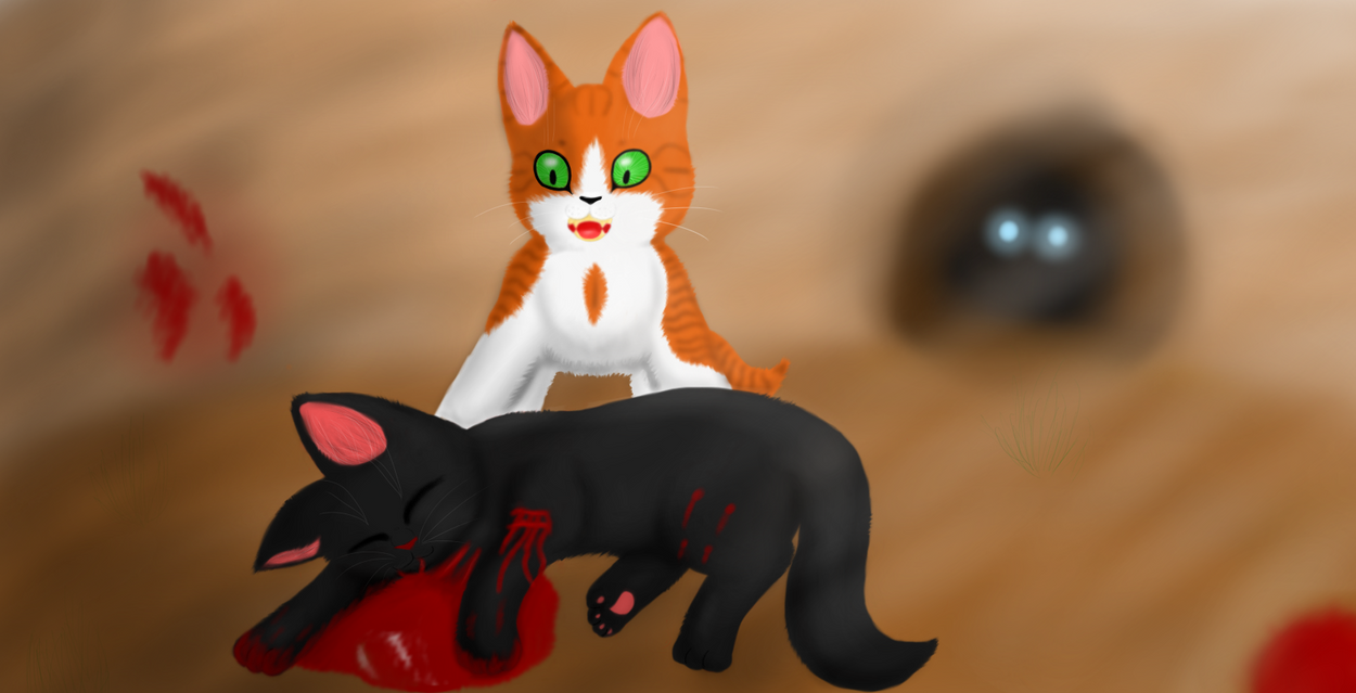 Hollyleaf's Death by DizzleDeeX on DeviantArt