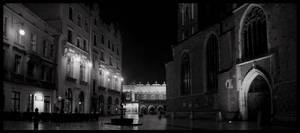 Cracow by night 3
