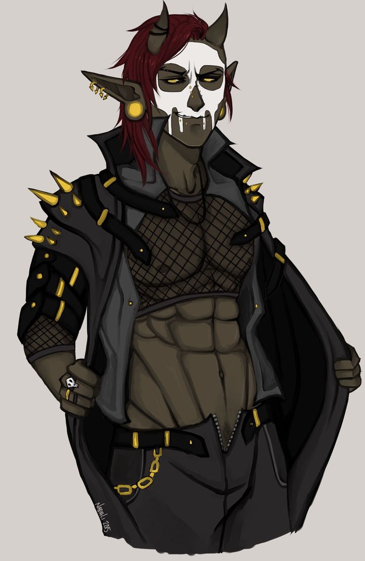 Skull Boy by Nadao