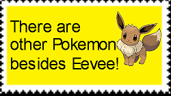 Eevee and Eeeveelutions are overrated. by arblos