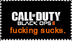 Fuck Black Ops II. by LordOfstamps
