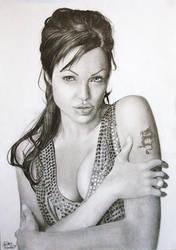 Angelina Jolie by caseythornton