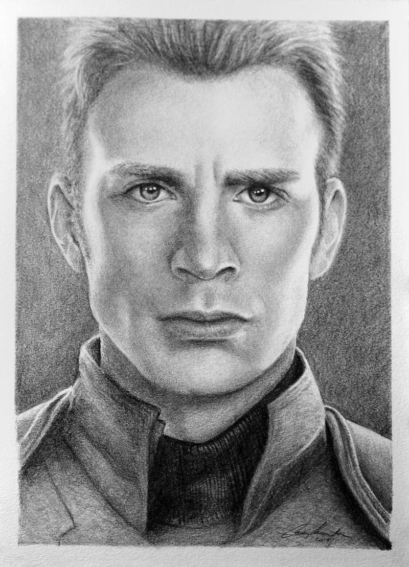 Chris Evans As Captain America By Caseythornton On DeviantArt