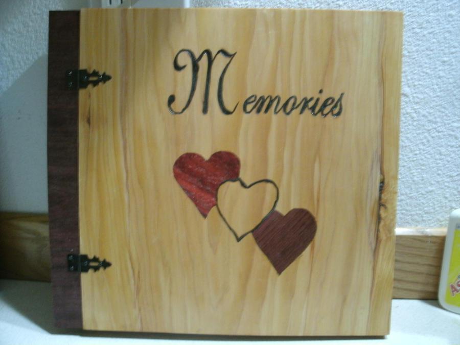 Wood Memories Scrapbook Album With Inl By Wcuster On Deviantart