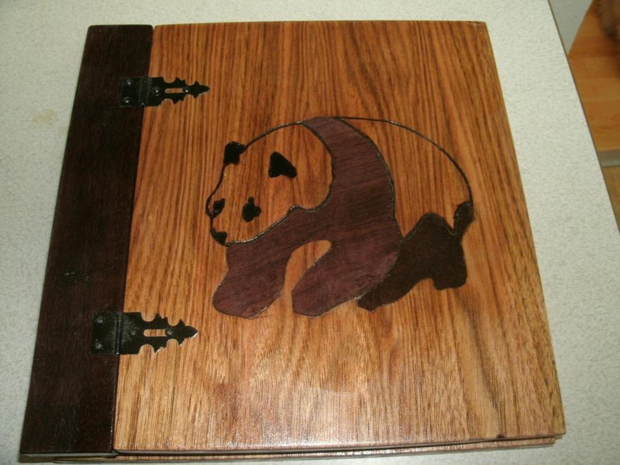 Panda Inlay Scrapbook Album By Wcuster On Deviantart