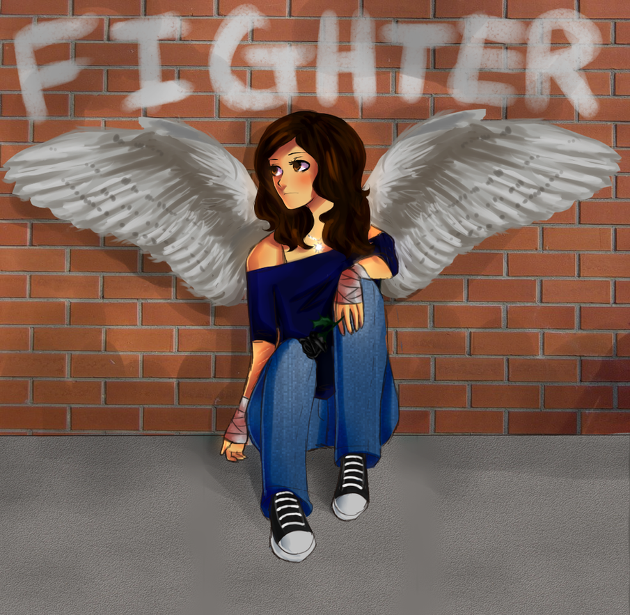She's A Fighter by HalChroma