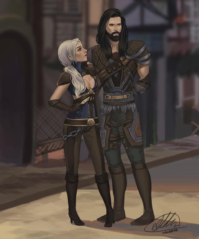 Lythrin and Brasbard by HalChroma