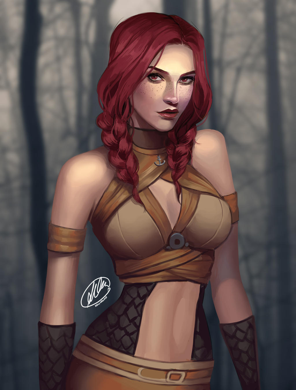 Commission: Fawn Holmwood by HalChroma