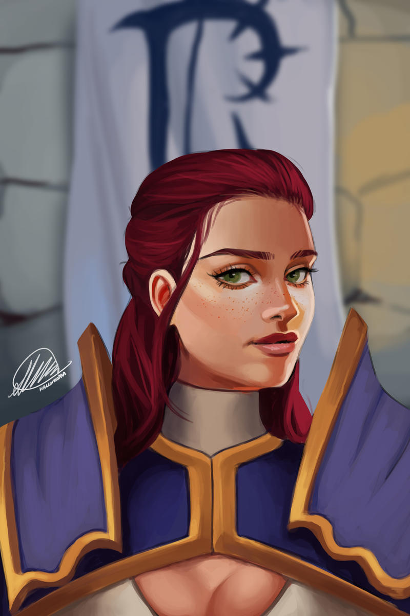 Commission: Leah Eastford by HalChroma