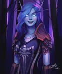 Commission: Calethra by HalChroma