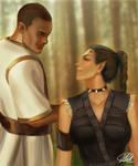 Commission: Octavius and Amaralith