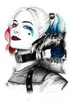 Harley Quinn by chris-kay-art
