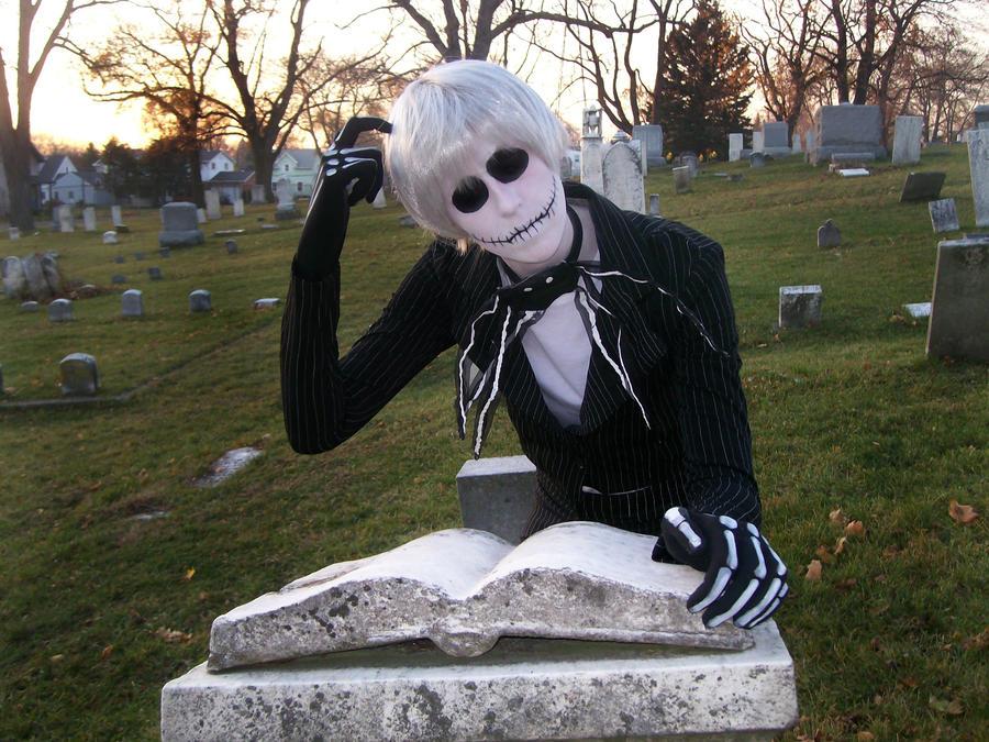 Jack Skellington: Skeletal Scholar by AxisRivers