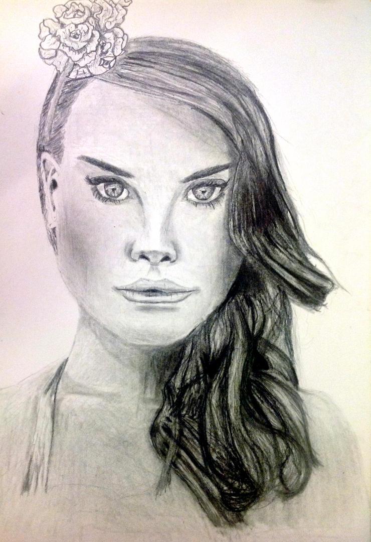 Lana Del Rey by Leongardo