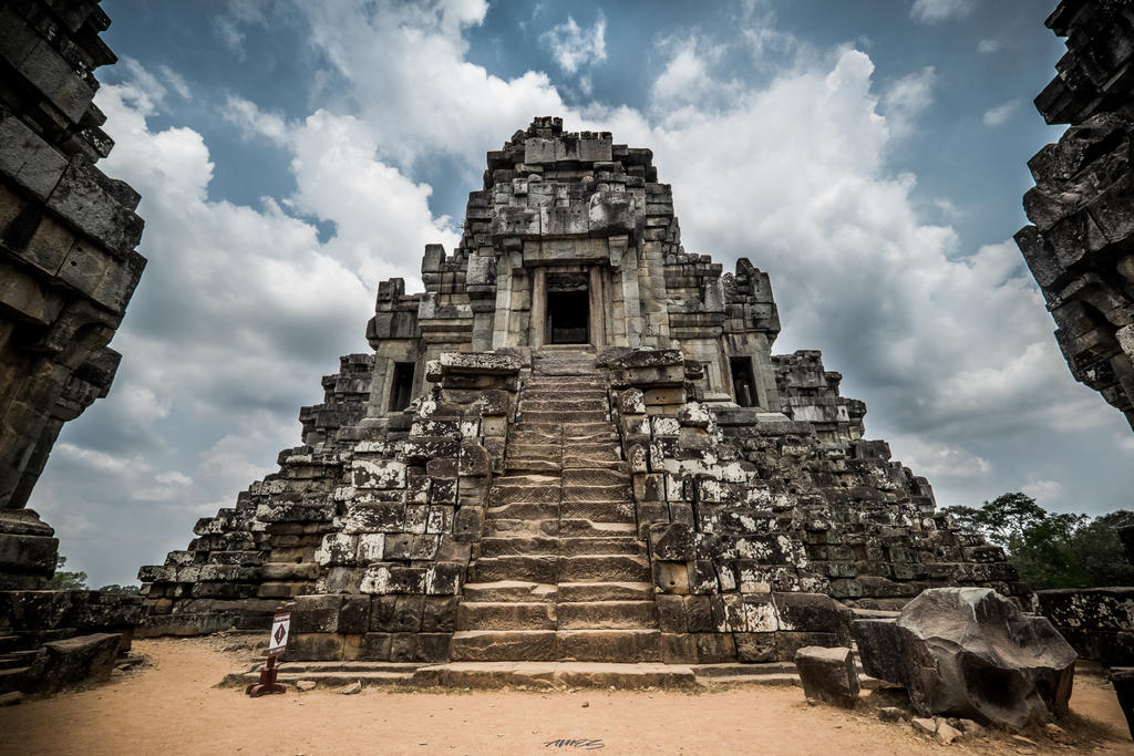 Ancient world Cambodia by Neveramez