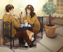 Coffee Daaateee by MyDearBasil