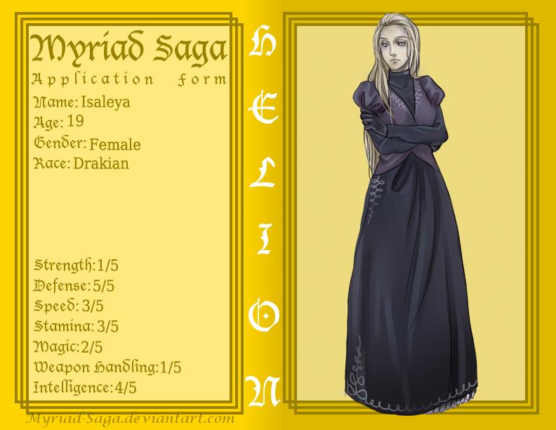 Myriad- Isaleya by MyDearBasil