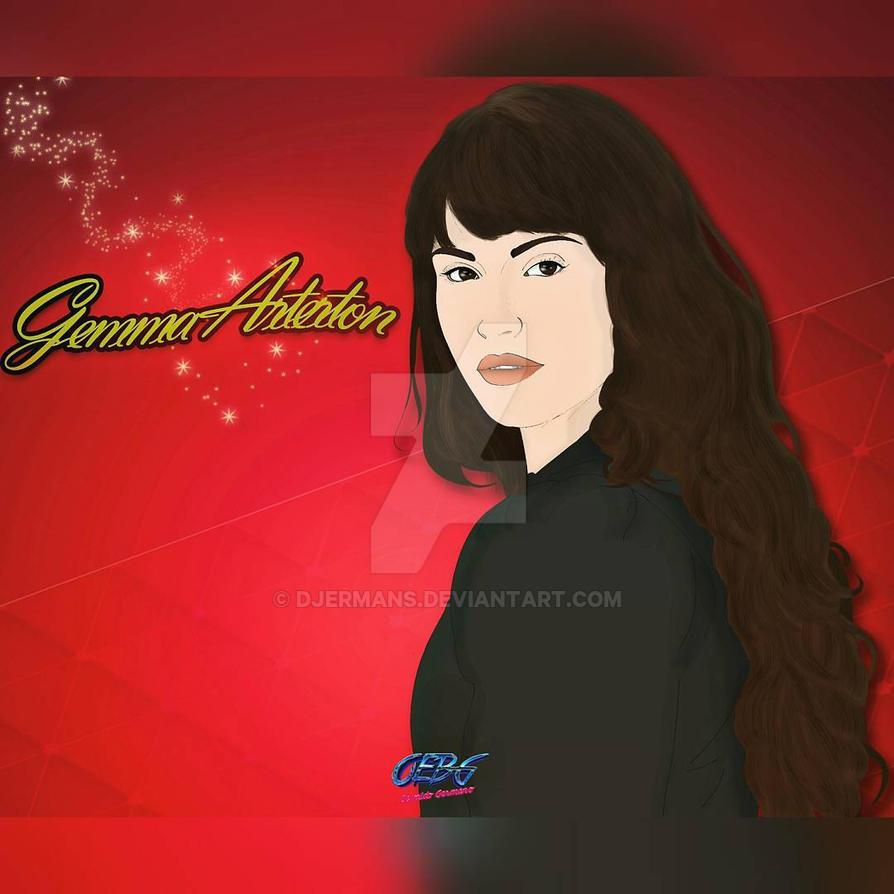 Gemma Arterton by Djermans
