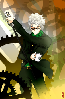 Ozpin- Gears of Machinations
