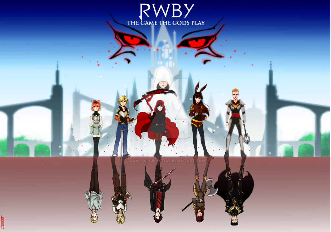rwby the game the gods play by dane of celestia on deviantart