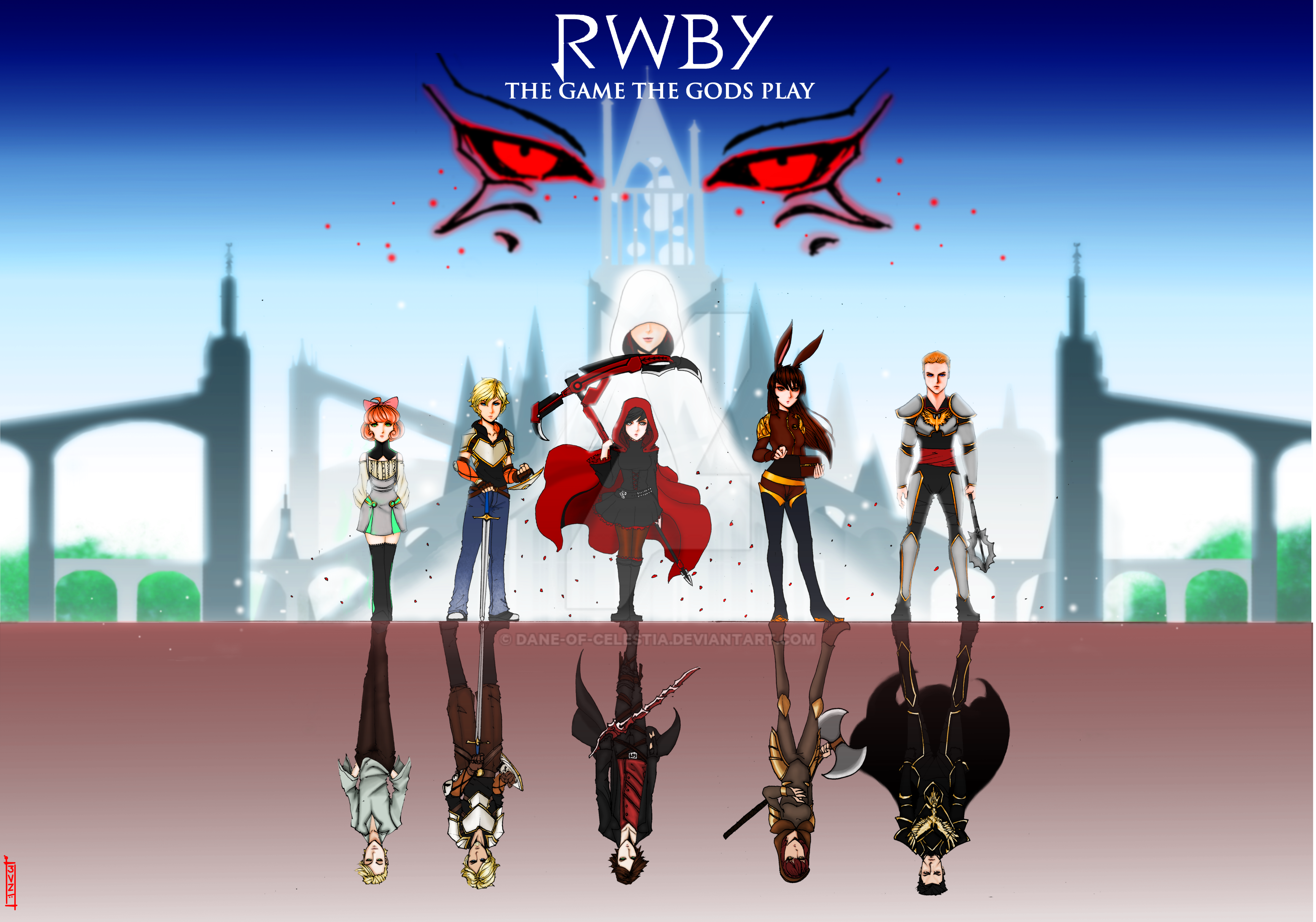 RWBY- The Game The Gods Play by Dane-of-Celestia on DeviantArt