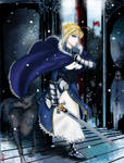Saber- In Cold, My King Is