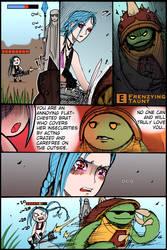 LoL Comic- Taunt by Dane-of-Celestia
