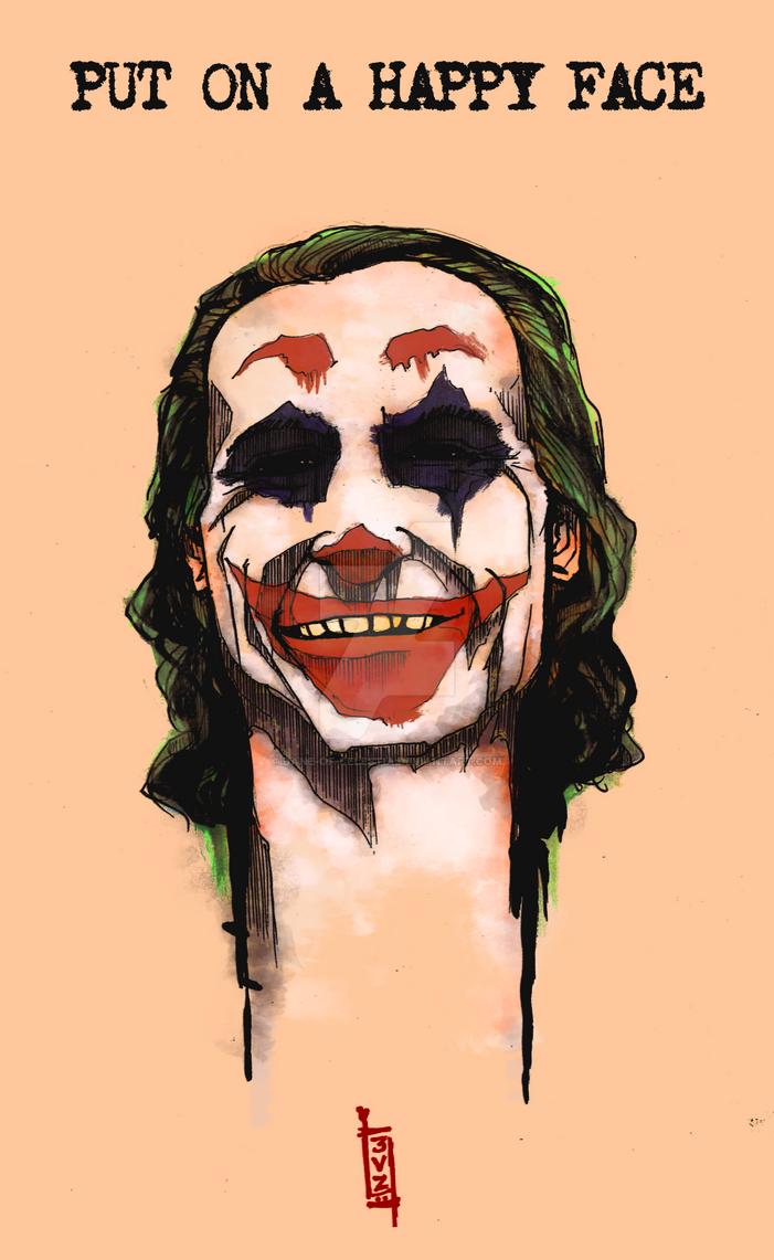 Joker- Put on a happy face by Dane-of-Celestia