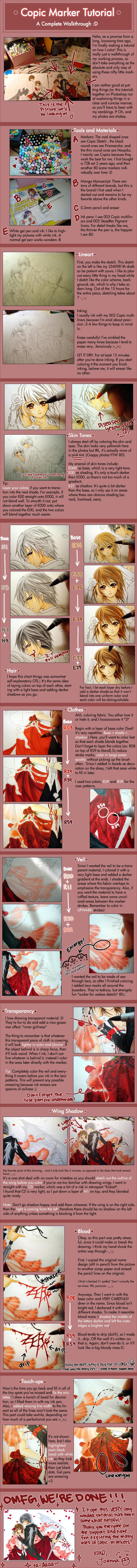 Copic Marker Tutorial I By Cartoongirl7 On Deviantart