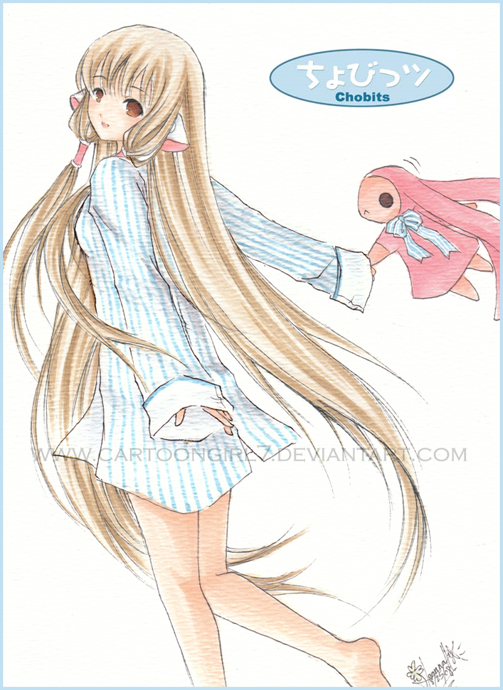 Chobits Chii By Cartoongirl7 On Deviantart