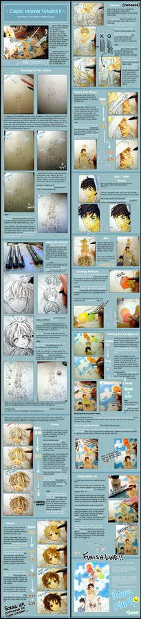Copic Marker Tutorial II