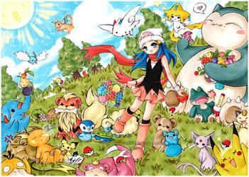 POKE-PARADISE by cartoongirl7
