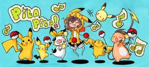 PIKA PARADE by cartoongirl7