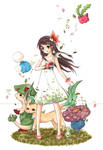 Windflower by cartoongirl7