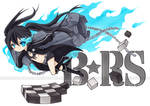 Black Rock Shooter by cartoongirl7