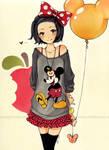 APPLE by cartoongirl7